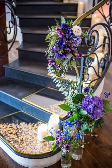 結婚式場のお花