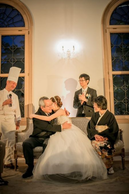 花嫁とご両親