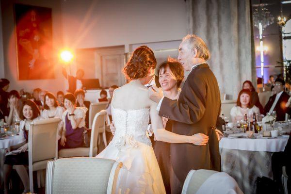 花嫁とご両親様