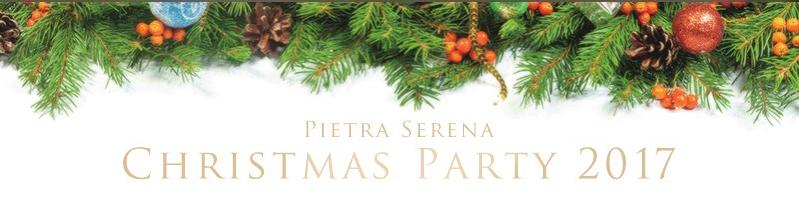 ピエトラセレーナクリスマスパーティバナー
