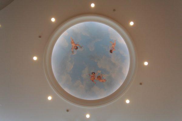 デザートルームの天井|ピエトラセレーナ