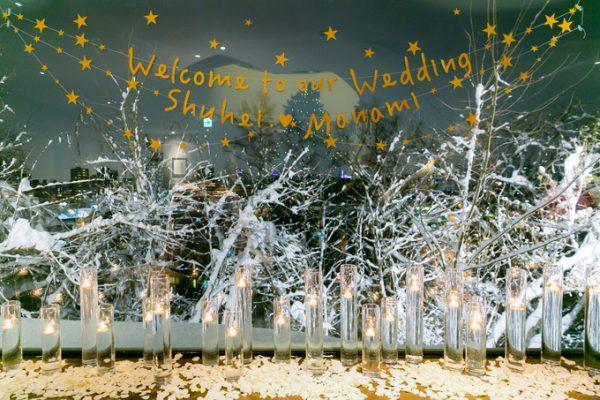 冬の結婚式|ピエトラセレーナ