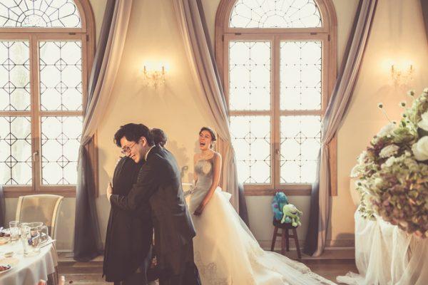 結婚式当日のご家族|ピエトラセレーナ