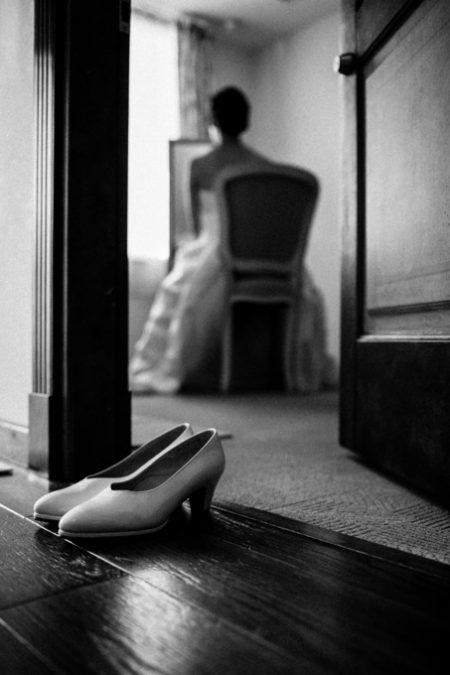 お支度中の花嫁様|ピエトラセレーナ