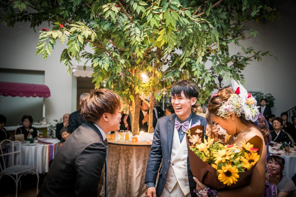 「私達のために」を形にしてくれた、宝物の結婚式