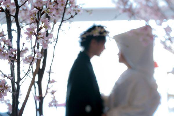 和装|春の結婚式