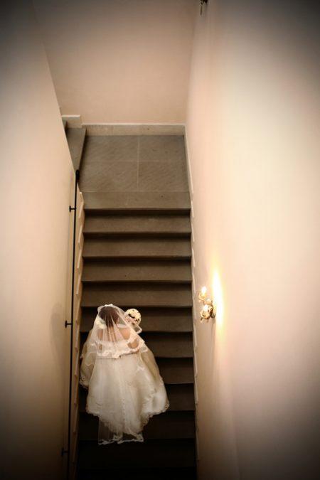 階段|ローズガーデンクライスト教会
