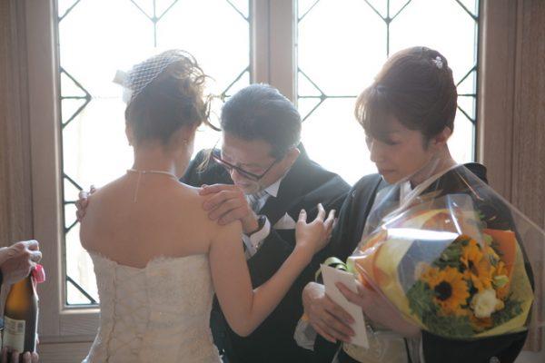 花嫁様とご両親様|ピエトラセレーナ