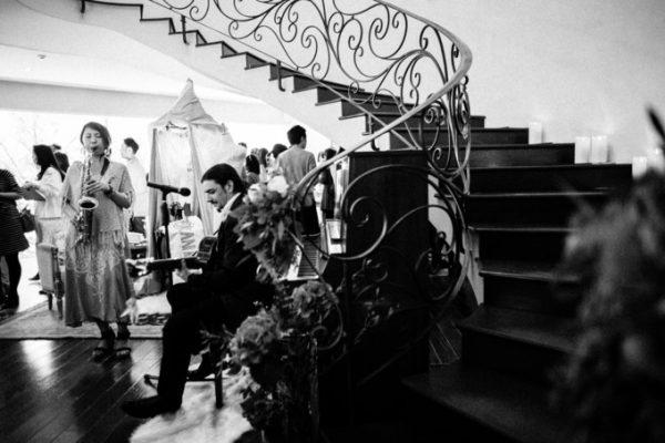 結婚式のウェルカムパーティ