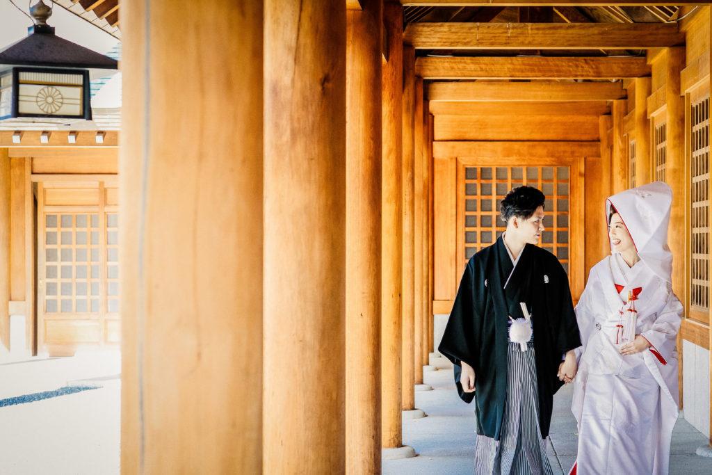 挙式は「着物で神社!」神宮挙式+ピエトラパーティ相談会☆